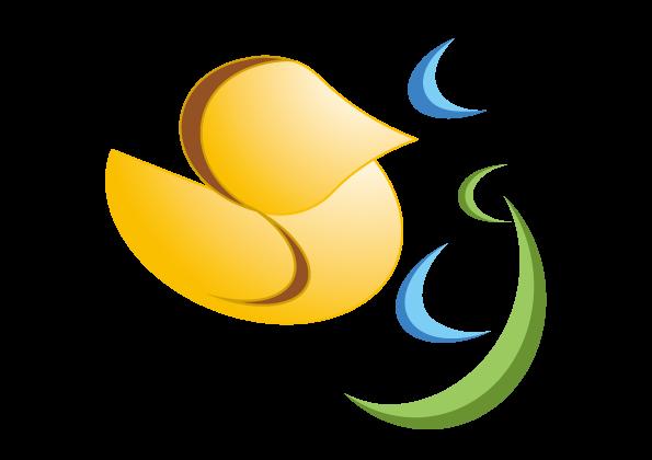 カイツブリのロゴマーク